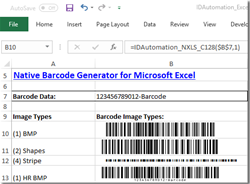 Barcode Generator for Microsoft Excel