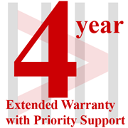 4-year Extended Warranty with Priority Support for SC7